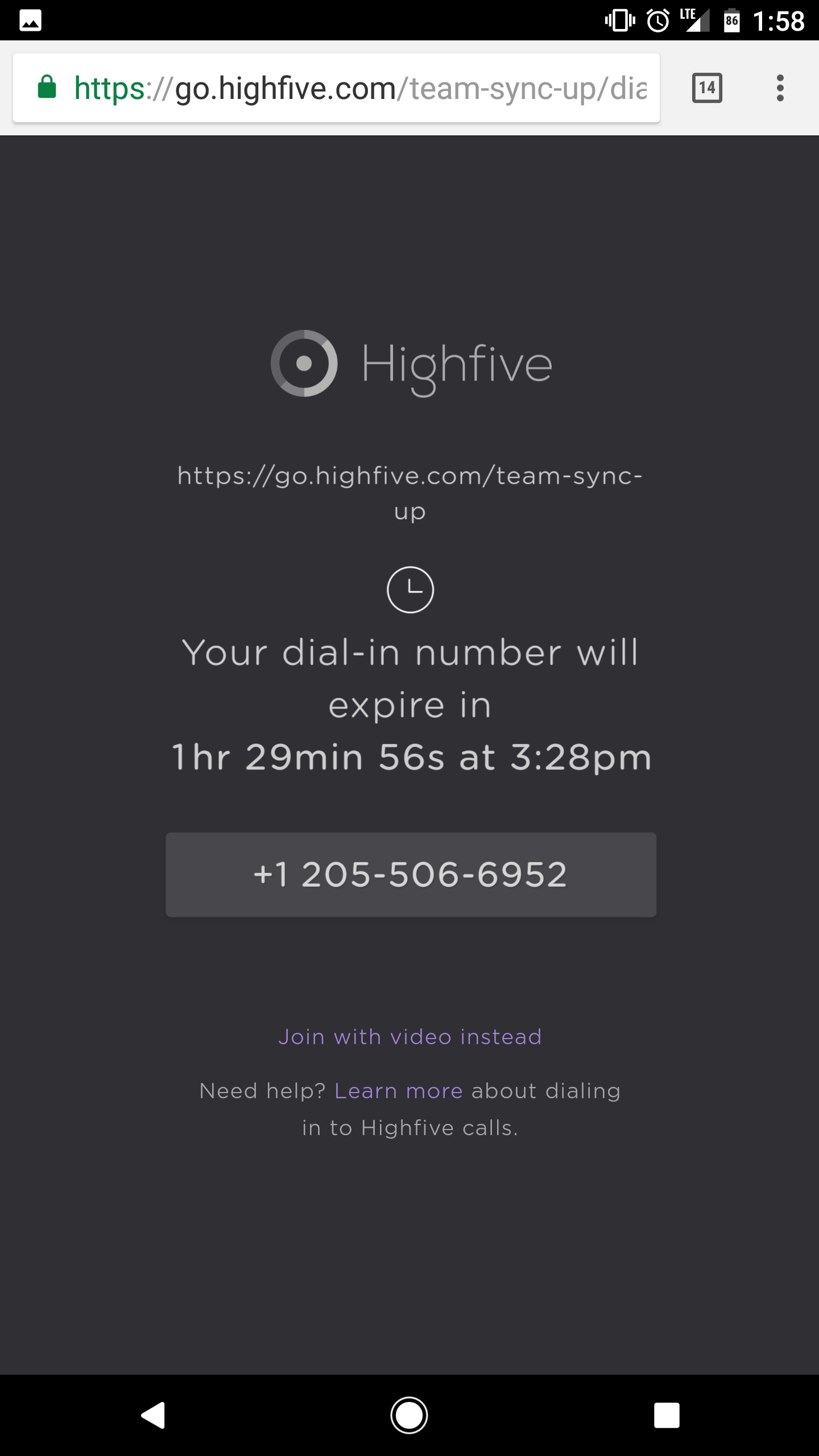 02_Mobile_Highfive_Dial-in_Invite.png