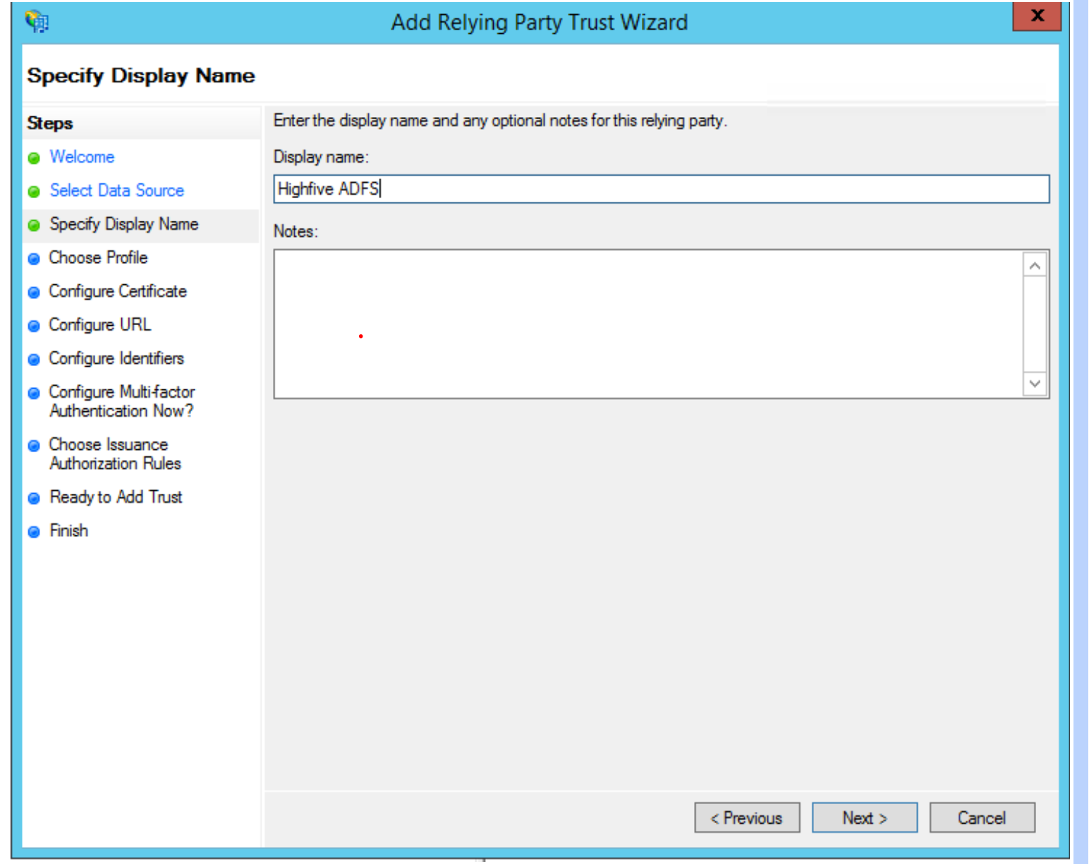 How To Configure Active Directory Federation Services SSO
